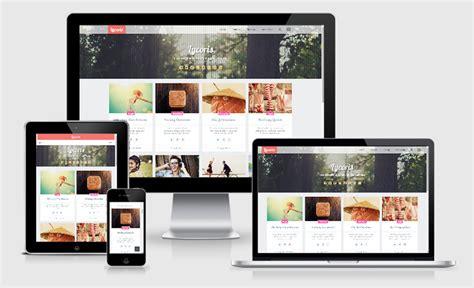 Lycoris Responsive Gallery Blogger Template Manyar Template Responsive Gallery Template