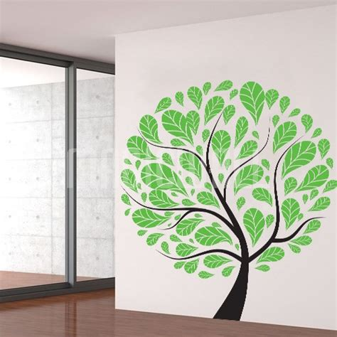 green wall stickers wall stickers green tree magic wall decals canada