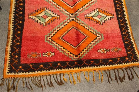 tribal rug vintage moroccan tribal rug runner matisse style at 1stdibs