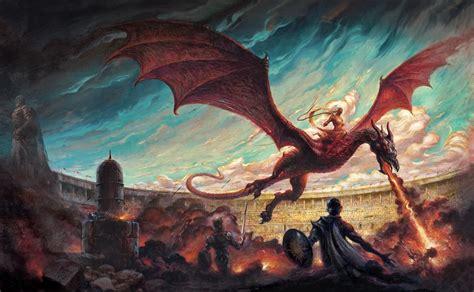 danza de dragones desviadas y perversas llamas impresiones de danza de dragones atalaya de poniente