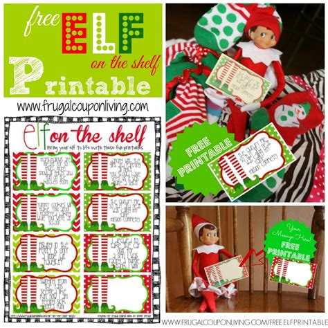 free printable elf on the shelf book the elf on the shelf ideas