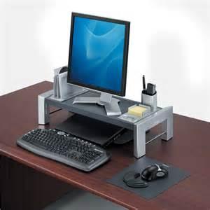 support pour 233 cran d ordinateur hauteur r 233 glable vilacosy