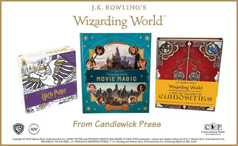 j k rowlings wizarding world wizarding world books by j k rowling from candlewick