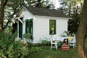 Small Backyard House Plans by Vintage Tourist Cabin