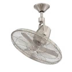 ceiling oscillating fan bentley iii 22 in oscillating brushed nickel ceiling fan