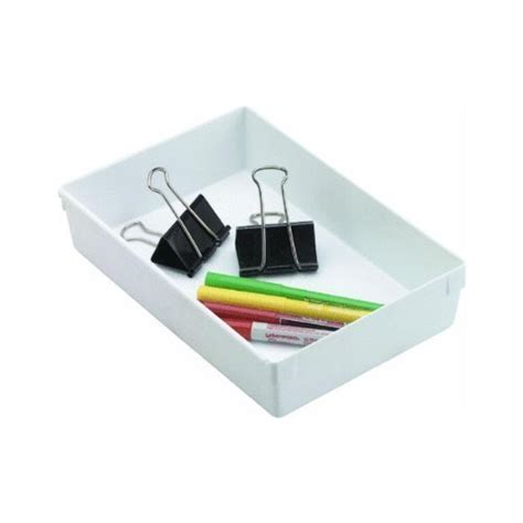 9 inch drawer organizer rubbermaid drawer organizer 9 by 6 by 2 inch white 2 pack