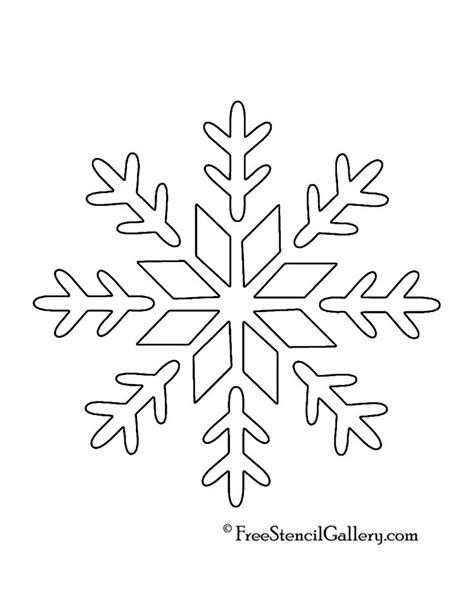 Snowflakes Printables Pinterest | the 25 best snowflake stencil ideas on pinterest