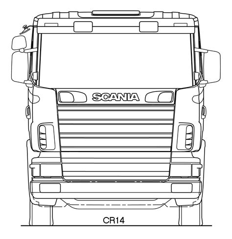 how to make a blueprint scania r series blueprint free blueprint for 3d modeling