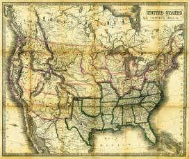 1861 united states map print by daniel hagerman