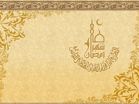 golden pattern history quality image of simple islamic gold powerpoint background