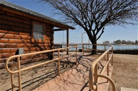 Roper Lake Cabins by Roper Lake State Park Offers Wheekchair Access Accessing