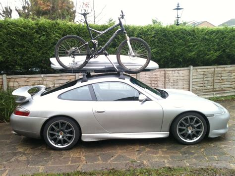 Porsche Roof Rack by 997 996 911 Bicycle Roof Bars Page 1 Porsche