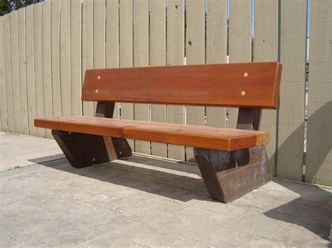 precast benches rustic bench mackay precast products