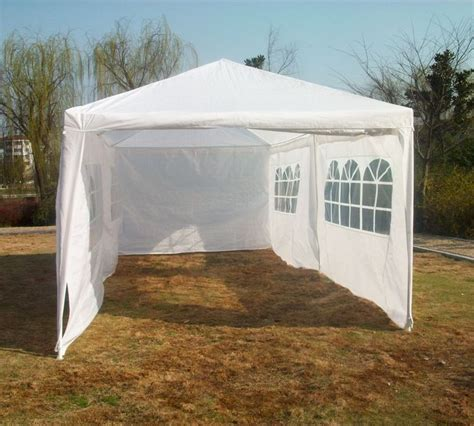 white garden party tent small marquee    quictent