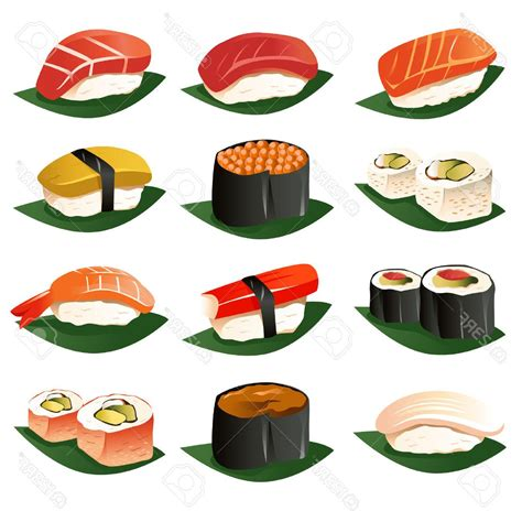 clipart vector unique sushi illustration vector photos 187 free vector