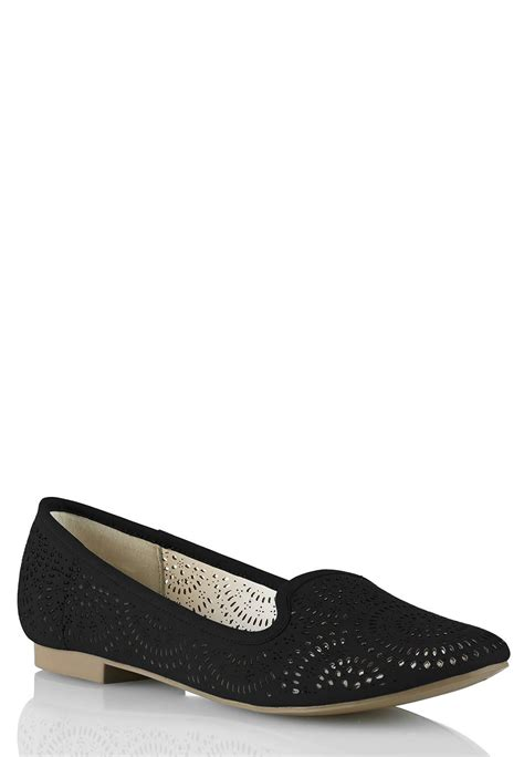 wide with sandals wide width cutout flats flats cato fashions