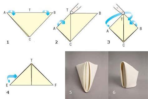 Origami Con I Tovaglioli by Pieghiamo I Tovaglioli Con Creativit 224 Lavori Creativi