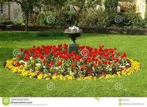 A Flower Garden Flower Bed In A Formal Garden Royalty Free Stock Photography Image 13318037