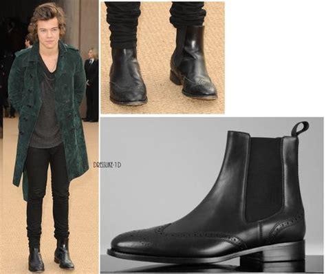 harry styles s chelsea boots harrystyles onedirection
