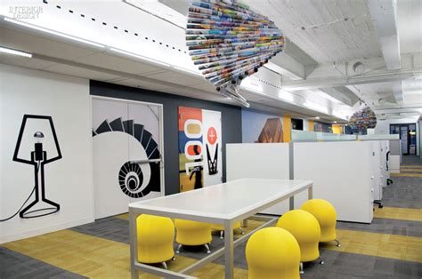 media office interiors a strong statement at sandow s new york headquarters