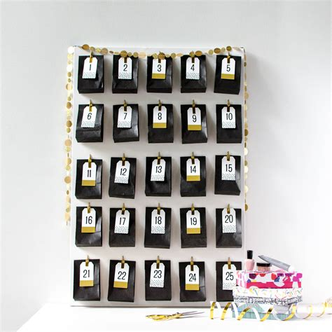 make your own advent calendars make your own diy advent calendar with sles