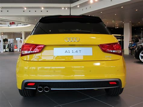 Audi A1 Gelb by Audi A1 Sportback S Line 1 4 Tfsi 185ps Farbstudie Schwarz