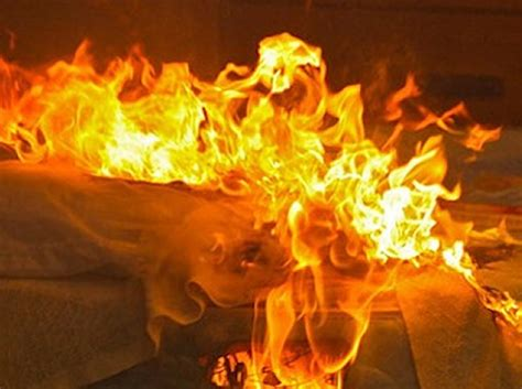 this bed is on fire student records himself setting classmate on fire newsbite