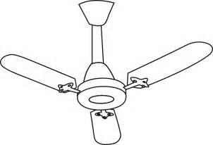 Fan Outline ceiling fan outline clip at clker vector clip royalty free domain