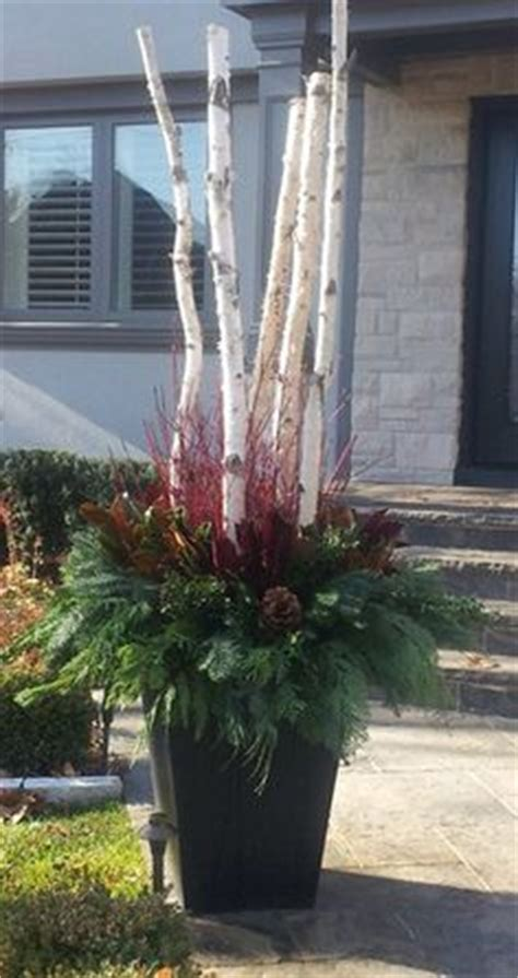 Ideas For Front Doors christmas urns on pinterest 22 pins