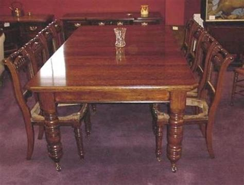 two leaf 10 seater oak dining table antiques atlas