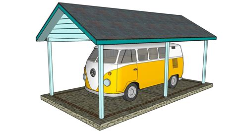 carport plan pdf diy double carport plans diy free plans download