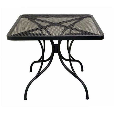 Round Outdoor Patio Table Metal Patio Table