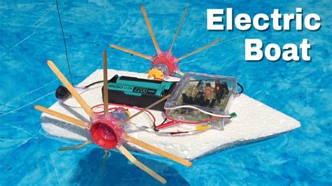 how to make a rc boat youtube how to make a simple rc boat with double engine amazing
