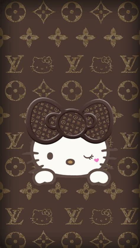 hello kitty louis vuitton wallpaper 482 best images about hello kitty on pinterest iphone