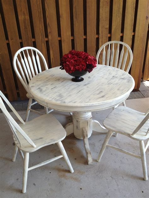 white shabby chic dining table large and beautiful