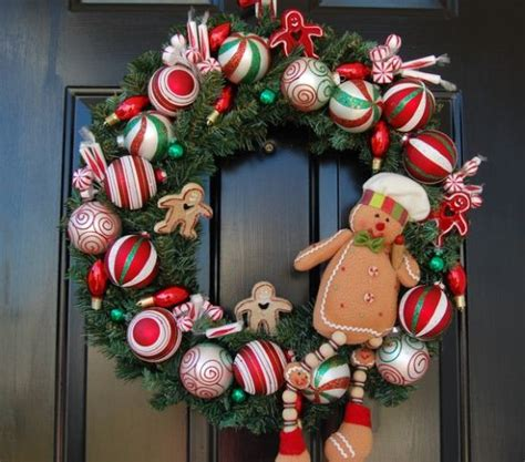 Kitchen Decorations Ideas Theme 20 christmas wreaths for entrance ultimate home ideas