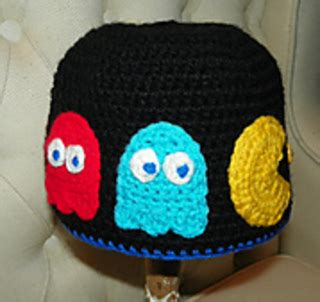 artist hat pattern ravelry not afraid of no ghosts pac man inspired hat