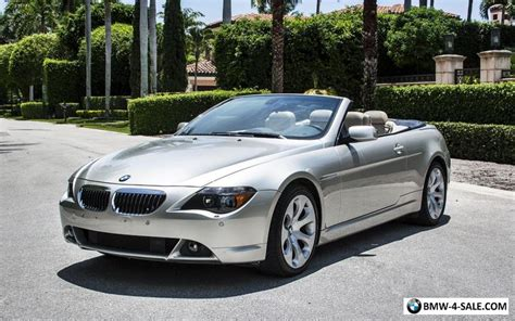 2005 bmw 6 series 645ci for sale in united states