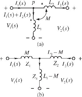inductive coupling equivalent circuit finding the equivalent circuit without inductance for coupling