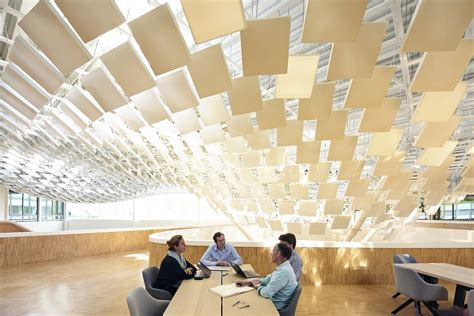 Atrium Ceiling Design by Philips Lighting Headquarters In Eindhoven Building E