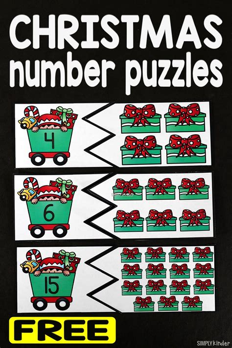printable christmas number puzzles christmas number puzzles simply kinder