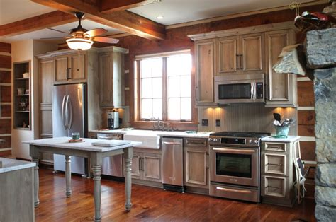 kitchen rustic kitchen other metro by peace design danbury log cabin rustic kitchen other by marta