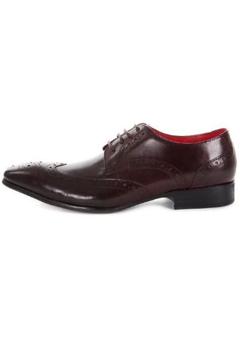 paolo vandini wainwright formal shoes burgundy intro