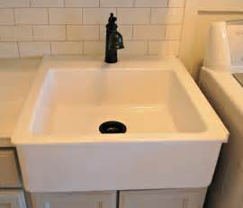 Laundry Room Sinks And Cabinets Roly Poly Farm Laundry Room Reveal