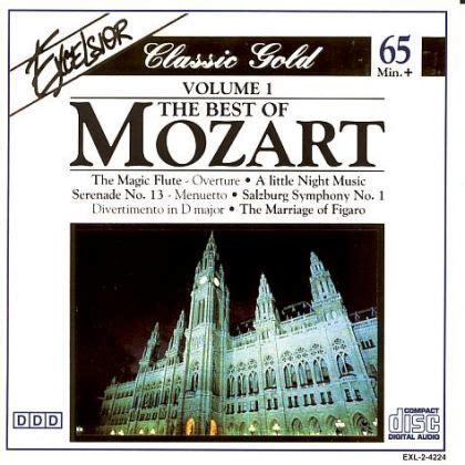 the best of mozart wolfgang amadeus mozart volume 1 the best of mozart on