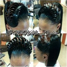 3d illusion braids illusion pony hair styles pinterest illusions and pony