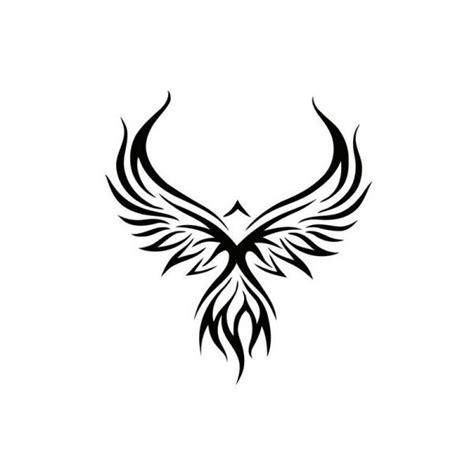 phoenix tattoo representation pochoir phoenix tatouage temporaire fantastiques