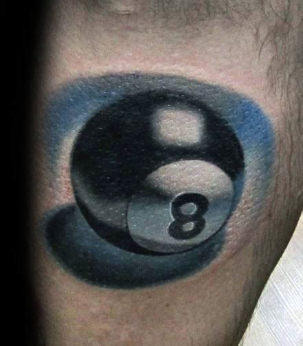 pool tattoo top 40 best 8 designs for billiards ink