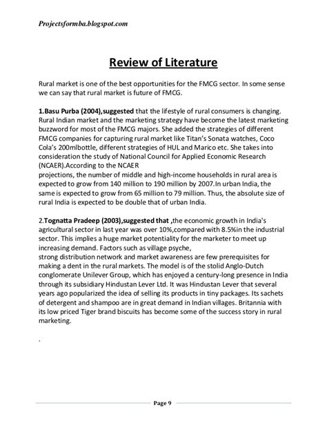project dissertation dissertation project report on marketing