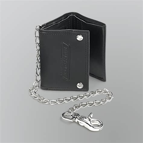 dickies s trifold wallet with chain